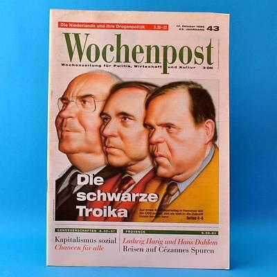 Wochenpost 43/1996   Zeitung   Genossenschaften Niederlande Drogen Helmut Kohl