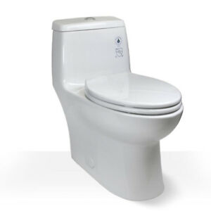 Comfort Height Skirted Cyclone Toilet