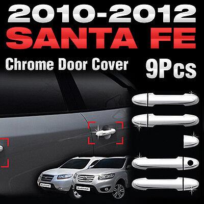 Chrome Door Catch Molding B812 For HYUNDAI 2010 2011 2012 Santa Fe The Style