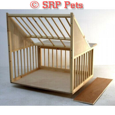 SRP PETS® Timber Sputnik - Racing Pigeon Loft - 34 3/4