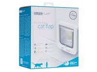 SureFlap Microchip Cat Flap - BNIB (bought in error) - 3 year warranty from manufacturer - White