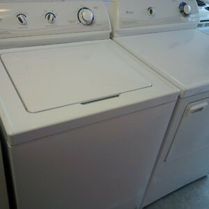 washer dryer set mint condition maytag