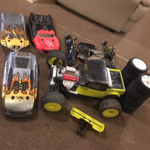 Caster F8T rc race truggy