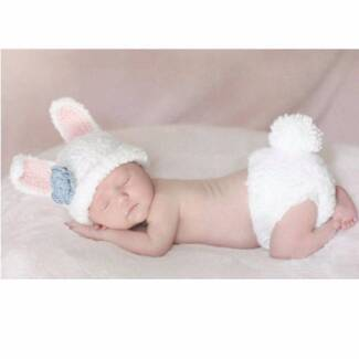 Newborn baby Bunny set Photo Photography Costume Prop Outfits
