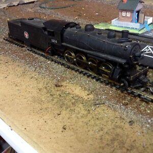 HO Model Railway Complete 8 X10 Layout