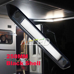 12V-Waterproof-Black-Shell-LED-Awning-Light-Caravan-Motorhome-Camping-Strip-Lamp