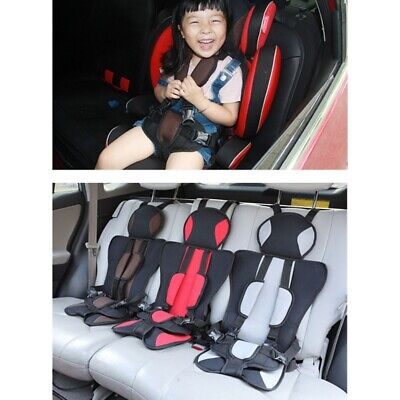 Portable Kids Safety Car Seat 0-6 Year Old Children Thickening Baby Cushion Seat