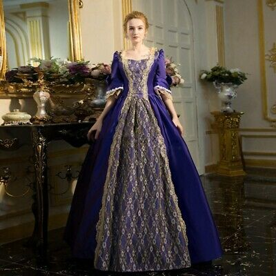 Southern Belle Ball Gown Womens Honorable Victorian Dress Halloween