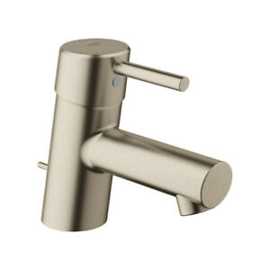 Grohe 34702EN1 Concetto Single Handle XS Size Bathroom Faucet Br
