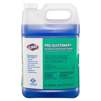 Clorox Pro Quaternary Commercial Solutions AP Cleaner, 128Oz Btl, 2 Bottles/Case