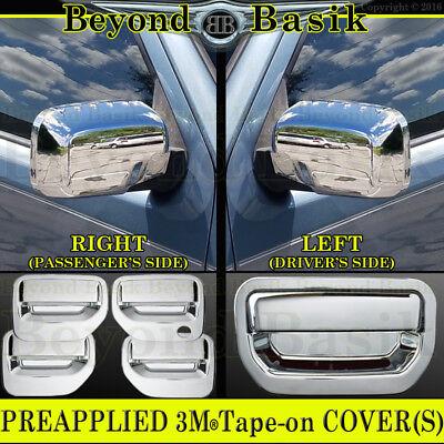 2006-2014 HONDA RIDGELINE Chrome Door Handle Covers+Mirror+Tailgate Overlay Trim