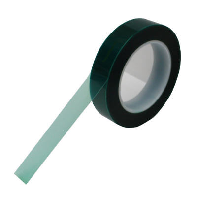 12 X 72 Yards High Temp Green Polyester Masking Heat Tape Powder Coating Paint