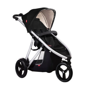 Phil and Teds Vibe Stroller with Double Child Kit