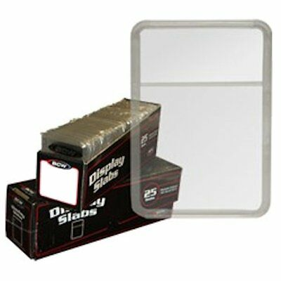 BCW 2x3 Display Slab, No Inserts, 25 Pack