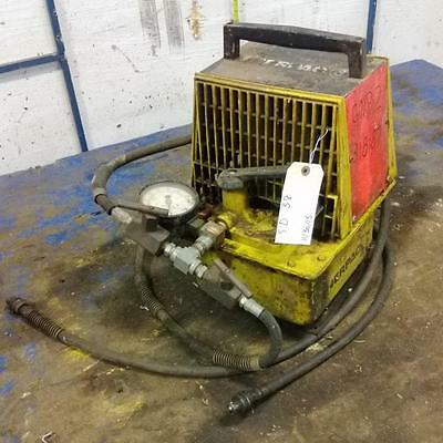 Enerpac Single-acting Air Hydraulic Pump Pam-1022 Be7c Jch