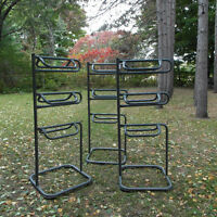 Tiered Saddle Display Racks