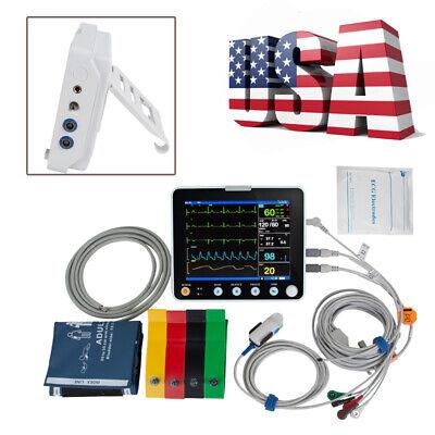 Portable 6-parameter Patient Monitor Vital Sign Hospital Cardiac Monitor Health