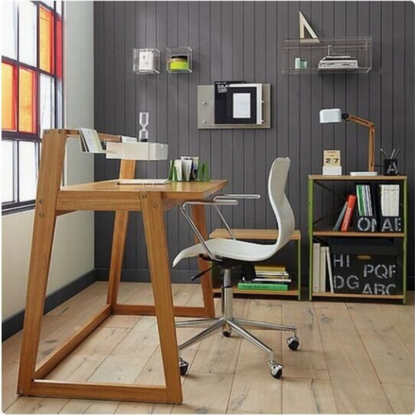 PO - Solid Wood Office Table, Computer Table