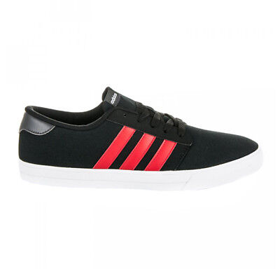 adidas Skate VS Sneaker Schwarz Herren Schuhe Skaterschuhe Canvas NEU B74538 - Adidas Canvas Schuhe