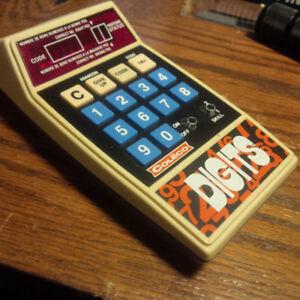 Coleco digits, retro hand held game. c. 1978