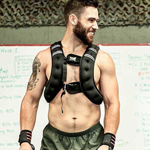10kg Gewichtweste Trainingsweste Fitnessweste Laufweste Gewichte 36*20*9cm TOP