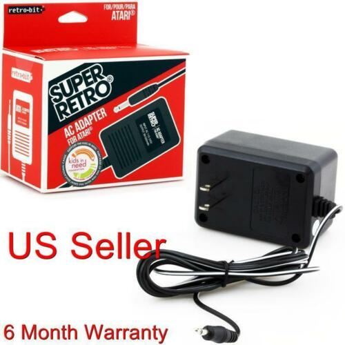 NEW AC Power Supply Adapter Plug Cord for the Atari 2600 System Console