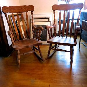 Two Fabulous Rocking Chairs Kitchener / Waterloo Kitchener Area image 1