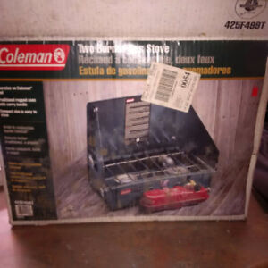 Coleman Two Burner Gas Stove