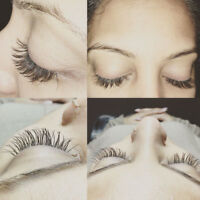 Professional Eyelash Extensions, Refills, Lash Lifts