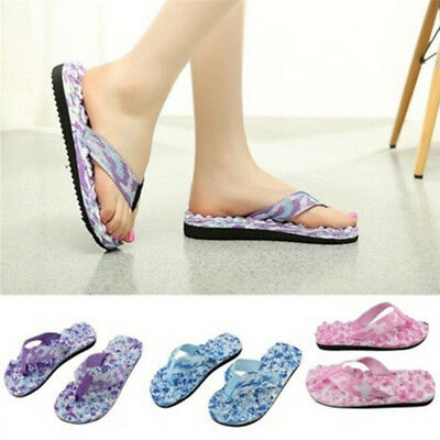Summer Flip Flop Sandals - Women's Summer Beach Flip Flops Shoes Sandals Slipper indoor Outdoor Flip-flop F