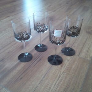 Brand New - Wine Glass Set  of 4 from Crate and Barrel