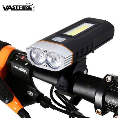 Dual T6 LED Spotlight Bicycle Multi Used 1000LM Bike Lamp Headlight Front Light