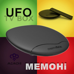 MEMOBOX UFO Android 4K Streaming Media Player