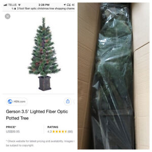 Christmas Trees - Brand New in the Box