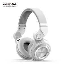Bluedio T2 auriculares bluetooth inalambricos de diadema plegable micro Blanco