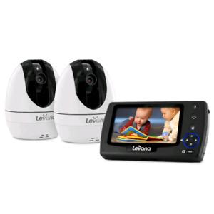 Dual camera video baby monitor