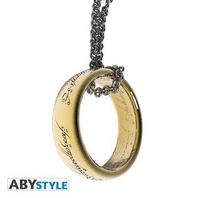 Herr der Ringe 3D Schlüsselanhänger Ring - ABYstyle (Herr Der Ringe 3d)