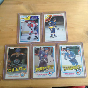 Vintage OPC Rookie Cards 70s and 80s