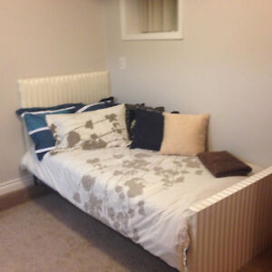 Separate Entrance One Bedroom Suite Avail. Nov.