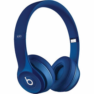 Beats by Dr. Dre Solo2 On-Ear Headphones, Blue (New in box)