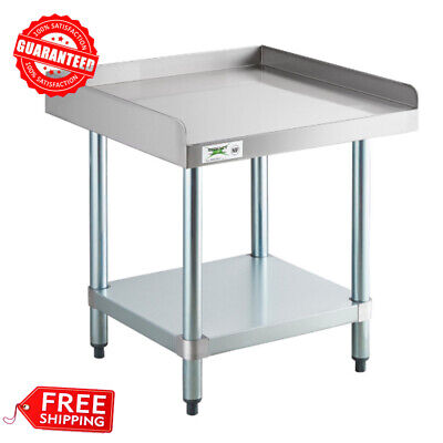 New Regency 24 X 24 Stainless Steel Work Prep Table Commercial Equipment Stand