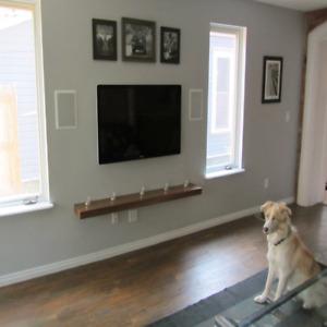 Installateur tv murrale 40$ , wall mounting tv expert garanti