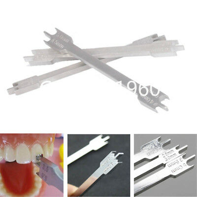 3 Size Dental Orthodontic Bracket Positioner Bracket Placement Gauge Instrument