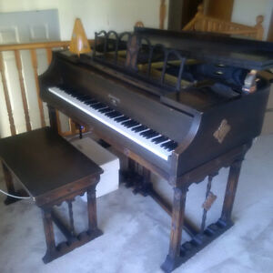 1939 Armstrong New York Baby Grand Piano