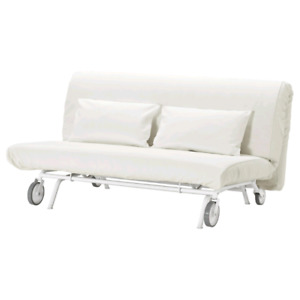ikea bed sofa futon without cover