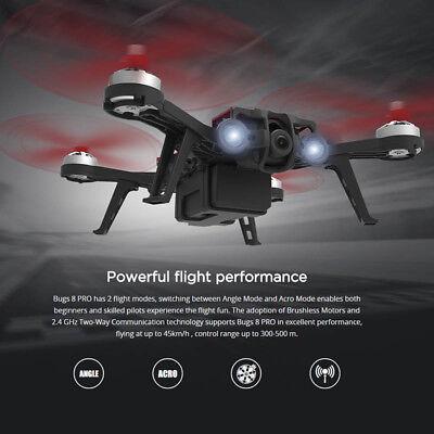 MJX Bugs 8 Pro Brushless RC Drone Quadcopter B8proFD FPV Camera D43 LCD RTF