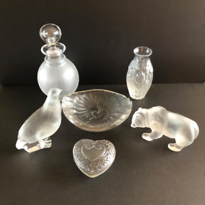 6 Lalique Items.  Priced Individually.  See listing for details