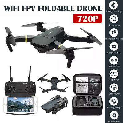 Drone X Pro Foldable Quadcopter Aircraft WIFI FPV  Wide-Angle HD Camera+Bag 720P