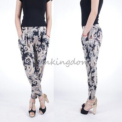 Milan Fashion Retro style    Cool  Women Lady Silky Stretchy Pants WP007 on Rummage