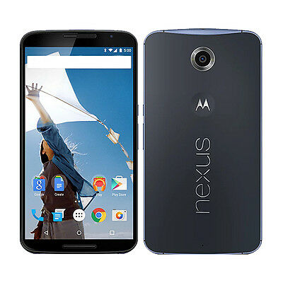 Motorola Nexus 6 XT1103 - 32GB - Blue (Unlocked) Smartphone CLEAN ESN